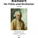 Bach / Coleman (Bearb.) > Konzert für Flöte und Orchester d-moll <