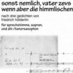 Joachim Gies >wenn aber die himmlischen<