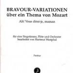 Adolphe / Westphal >Bravour-Variationen<