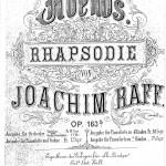 Joachim Raff > Abends.  Rhapsodie  op. 163b <