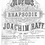 Joachim Raff > Abends op. 163b Rhapsodie <