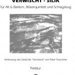 Sinem Altan >Verwischt-Silik< für Alt u. Bariton, Bläserquintett und Schlagzeug (UA)