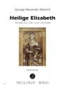 G.A. Albrecht >Heilige Elisabeth< u. >Himmel über Syrien<