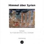George Alexander Albrecht >Himmel über Syrien<