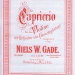 Niels W. Gade >Capriccio<