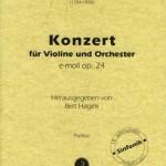 Ferdinand Ries > Konzert für Violine und Orchester e-moll op.24 <