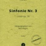 Louis Spohr >Sinfonie Nr. 3 c-moll op. 78<