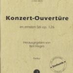 Louis Spohr >Konzert-Ouvertüre im ernsten Stil op. 126<