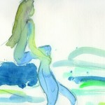 >>Die kleine Meerjungfrau<< von Ákos Hoffmann im September im Volkspark Halle