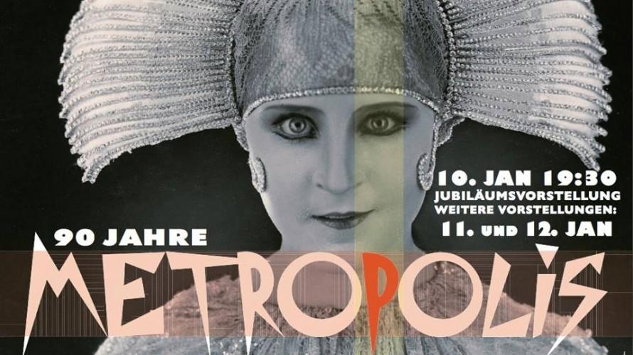 Jubiläumsvorstellung: 90 Jahre METROPOLIS im Kino Babylon