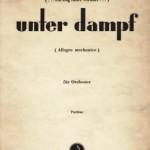 Alois Pachernegg >Unter Dampf<