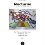 Frédéric Chopin >Nocturne cis-moll op. posth. 20<