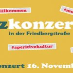Kiezkonzert am 16. November 2018 um 18 Uhr