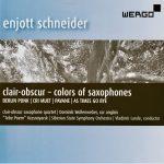 CD-Neuerscheinung mit Werken von Enjott Schneider: Colors of Saxophones