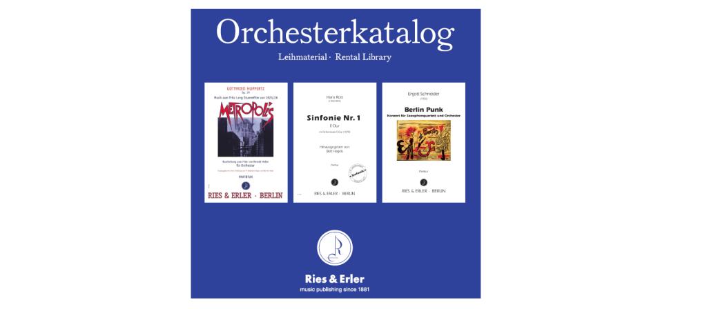 Orchesterkatalog 2019