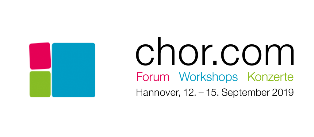 MESSE 2019: chor.com vom 12. – 15. September in Hannover