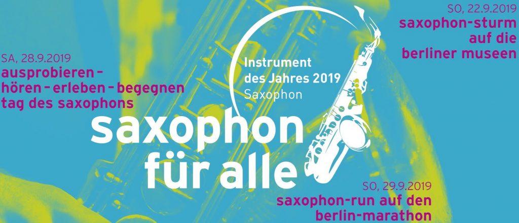 Tag des Saxophons im Haus des Rundfunks in Berlin