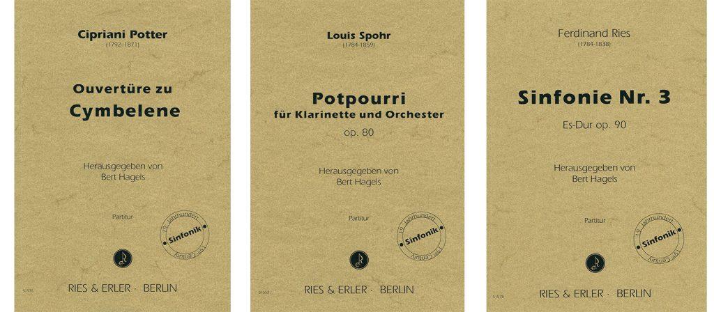 """Neu: Katalog """"Sinfonik des 19. Jahrhunderts"""""""