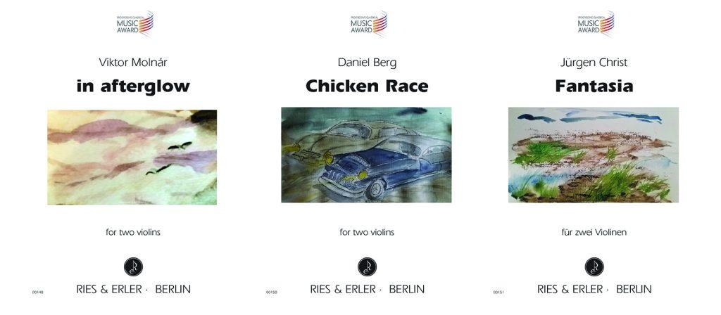 Progressive Classical Music Award: Neuerscheinungen bei Ries & Erler