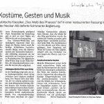 Auch Stummfilm mit Live Orchestermusik wieder möglich